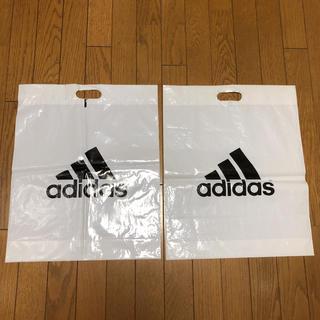 アディダス(adidas)のアディダスショップ袋2枚(その他)