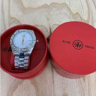 アライブアスレティックス(Alive Athletics)の◆新品未使用◆ALIVE腕時計 ILLEST silver/white(腕時計(アナログ))