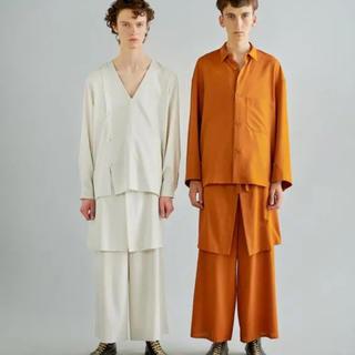ラッドミュージシャン(LAD MUSICIAN)の新品未使用 ETHOSENS エトセンス 19ss Layer pants(スラックス)