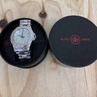 アライブアスレティックス(Alive Athletics)の◆新品未使用◆ALIVE腕時計 ILLEST24 silver(腕時計(アナログ))