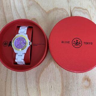 アライブアスレティックス(Alive Athletics)の◆新品未使用◆ALIVE腕時計 KID ILLEST white(腕時計)