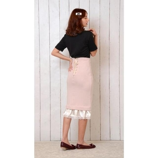 ケイティー(Katie)の Katie JOSEPHINE skirt スカート コルセット ミディ丈(ひざ丈スカート)