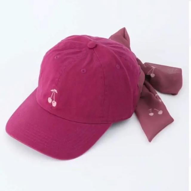 Honey Salon(ハニーサロン)の19SP♡新品同様♡Honey cherryキャップ レディースの帽子(キャップ)の商品写真