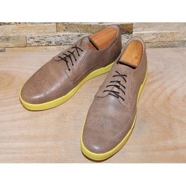 Cole Haan(コールハーン)のコールハーン ウイングチップ ライトブラウン 2626,5cm メンズの靴/シューズ(ドレス/ビジネス)の商品写真