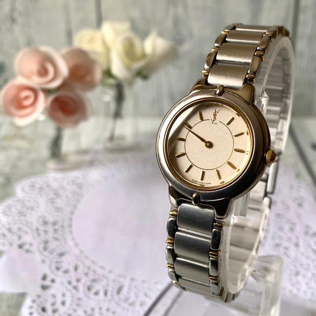 エルメス バッグ ソーケリー - Saint Laurent - 【電池交換済】Yves Saint Laurent 腕時計 レディース ラウンドの通販 by soga's shop|サンローランならラクマ