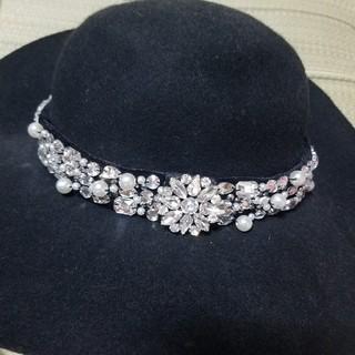 エミリアウィズ(EmiriaWiz)のエミリアウィズ  つば広帽子。sale(ハット)