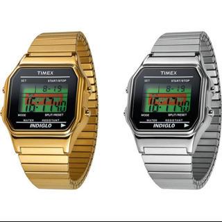 シュプリーム(Supreme)のSUPREME 19AW Timex Digital Watch GOLD(腕時計(デジタル))