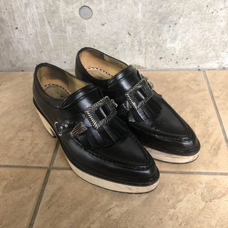 トーガ(TOGA)のTOGA バックルローファー チャンキーヒール(ローファー/革靴)