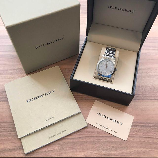PANERAL メンズ時計コピー | BURBERRY - バーバリー 腕時計 ヘリテージ BU1350 シルバー(92015977)の通販 by sakura-vintage's shop|バーバリーならラクマ