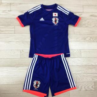 アディダス(adidas)のadidas アディダス 上下セット サッカー ユニフォーム 140 日本代表(Tシャツ/カットソー)