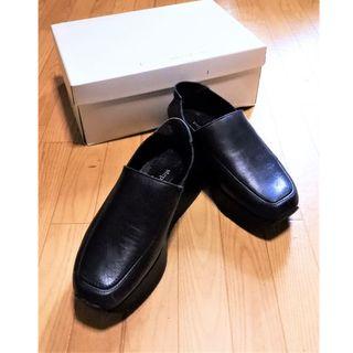 新品ステファンケリアン 上げ底高級上質革製ローファー(20cm)(ローファー/革靴)