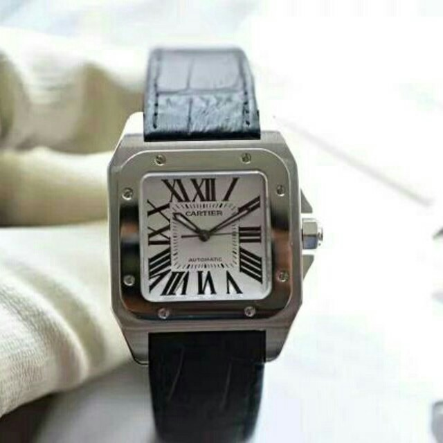 Cartier - カルティエ サントス 100LM W20076X8 自動巻 メンズ 腕時計の通販 by goal_3wyediye's shop|カルティエならラクマ