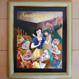 ディズニー(Disney)のSNOW WHITE Disney poster ディズニー ポスター 額縁(ポスター)