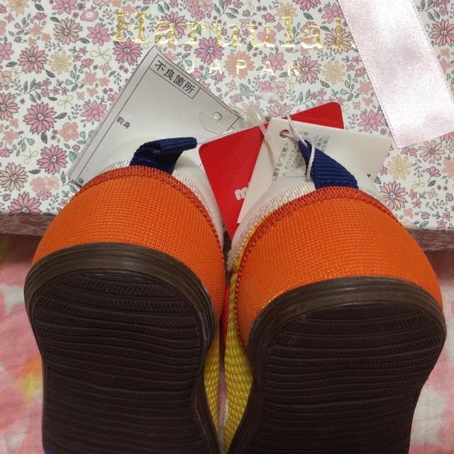 mikihouse(ミキハウス)の新品 ミキハウス サンダル マルチ 定価7776円 キッズ/ベビー/マタニティのキッズ靴/シューズ (15cm~)(サンダル)の商品写真