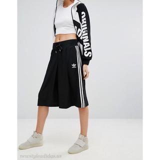 アディダス(adidas)のADIDAS アディダス ロングスカート BJ8187 M サイズ(クロップドパンツ)