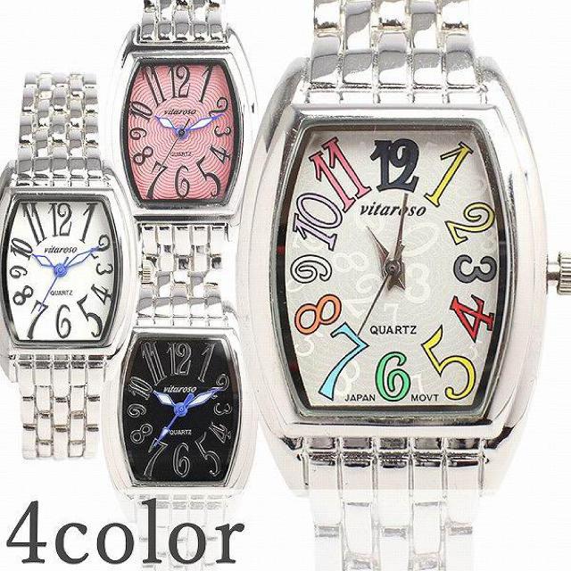 日本製ムーブメント 可愛いメタルベルトのシンプルトノー型腕時計 レディース腕時計の通販 by ちゅなSHOP|ラクマ