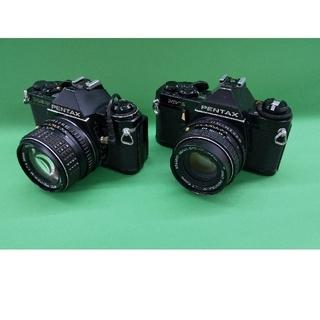 PENTAX - ペンタックス一眼レフカメラ二台セット