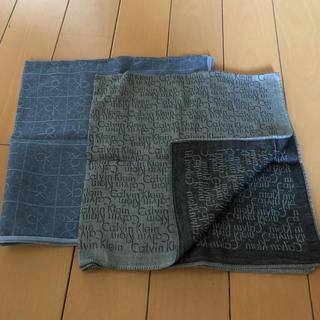 カルバンクライン(Calvin Klein)のカルバンクラインハンカチ❌2枚セゥト❣️期間限定価格   (ハンカチ/ポケットチーフ)