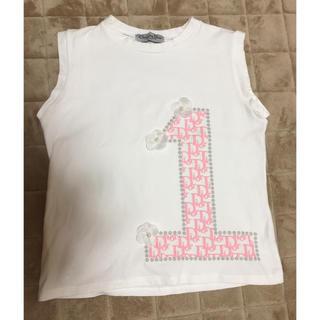 クリスチャンディオール(Christian Dior)のディオール ノースリーブシャツ(シャツ/ブラウス(半袖/袖なし))