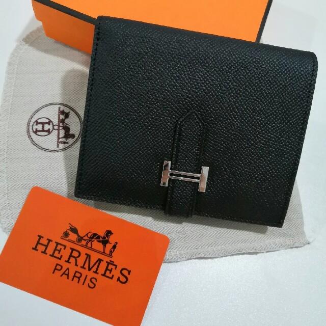 高品質 エルメス 折り 人気 財布 二つたたみ 男女兼用 正規品 の通販 by 比嘉BBK's shop|ラクマ