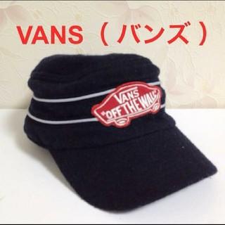 ヴァンズ(VANS)のVANS   (バンズ)  キャップ 54㎝   冬素材  ジュニア (帽子)