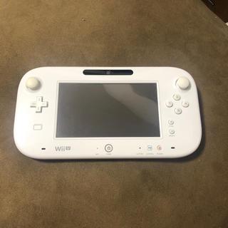 ウィーユー(Wii U)のWiiU gamepad ゲームパッド(家庭用ゲーム機本体)