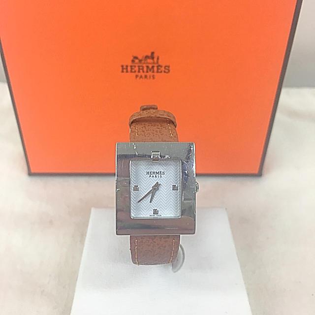 Hermes - 正規品 HERMES エルメス 腕時計 送料込みの通販 by 真's shop|エルメスならラクマ
