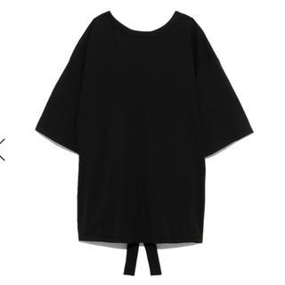 フレイアイディー(FRAY I.D)の新品タグ付き フレイアイディー バックストリング Tシャツ(Tシャツ(半袖/袖なし))