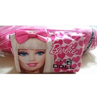 バービー(Barbie)のBarbie バービー ラップ毛布 ブランケット・ポーチ(ポーチ)