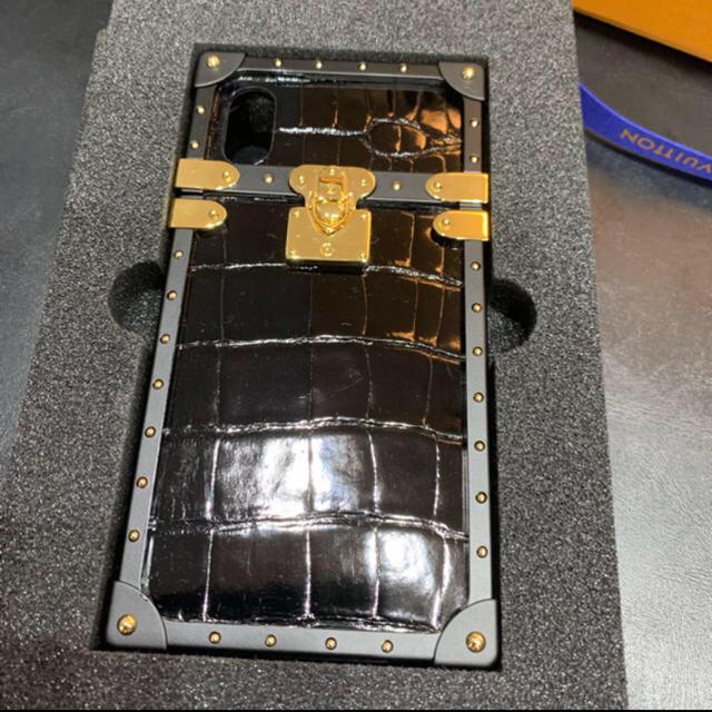 LOUIS VUITTON iPhoneケース クロコダイル 希少の通販 by れこまき's shop|ラクマ