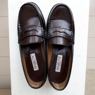 ハルタ(HARUTA)のHARUTA ローファー 24.5cm EEE 茶色(ローファー/革靴)