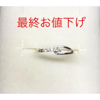 ヴァンドームアオヤマ(Vendome Aoyama)の最終お値下げ♡ヴァンドーム K10ダイヤリング(リング(指輪))