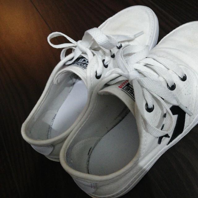CONVERSE(コンバース)のコンバース 白 21cm レディースの靴/シューズ(スニーカー)の商品写真