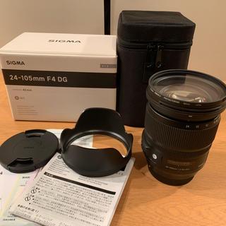 キヤノン(Canon)のSIGMA 24-105mm F4 DG Art CANON(レンズ(ズーム))