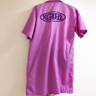 エックスガール(X-girl)のX-girl ロング丈シャツ(Tシャツ(半袖/袖なし))