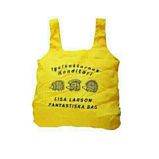 リサラーソン(Lisa Larson)のリサ・ラーソン 新品 ハリネズミ3兄弟柄のエコバッグ チコバッグ(エコバッグ)