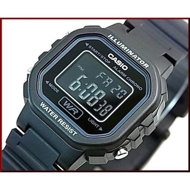 CASIO - CASIO【カシオ/スタンダード】アラームクロノグラフ レディース腕時計 デジタの通販 by かーりん's shop|カシオならラクマ