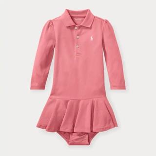 ラルフローレン(Ralph Lauren)のsale‼︎ラルフローレン  POLO ワンピース 長袖 90センチ(ワンピース)