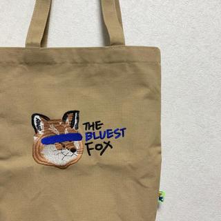 MAISON KITSUNE' - 【メゾンキツネ アーダーエラー コラボ】トートバック キャンバストート 刺繍