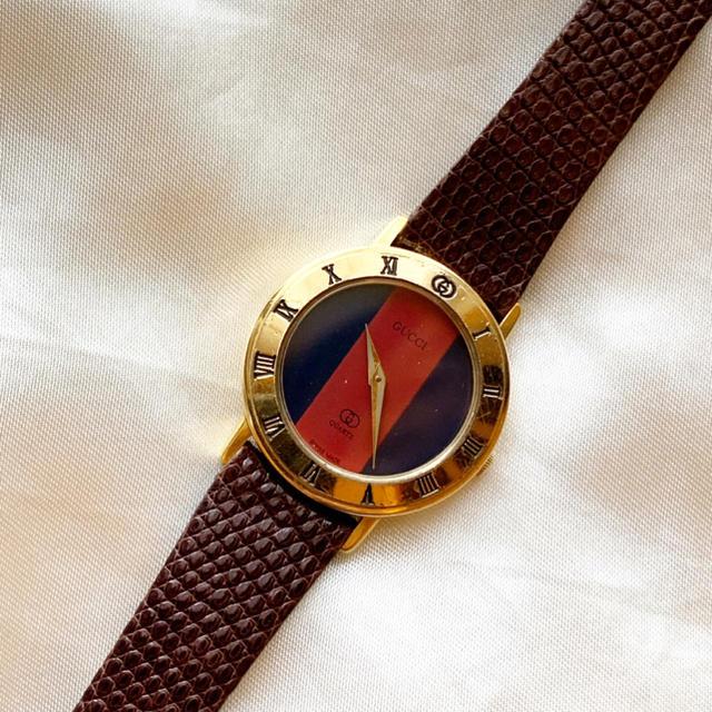 Gucci - 稼働品 良品!グッチ!シェリーライン  レディース腕時計の通販 by BF_大幅値下げ不可!|グッチならラクマ