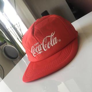 コカコーラ(コカ・コーラ)のサービス特価!コカコーラ キャップ  メッシュ  帽子 赤 (レッド)(キャップ)