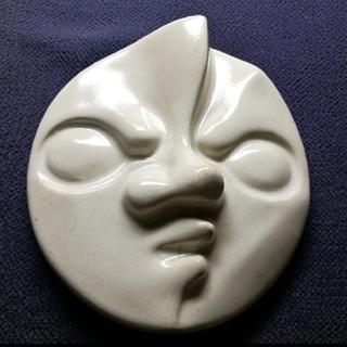 岡本太郎✨太陽の塔【現在の顔】陶器製オブジェ(彫刻/オブジェ)