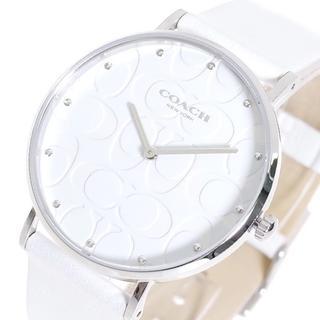 コーチ(COACH)のコーチ 腕時計 レディース 14503301 クォーツ ホワイト(腕時計(アナログ))