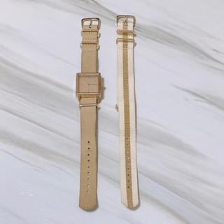 ニコアンド(niko and...)の腕時計 レディース ニコアンド モード ゴールド 時計 watch(腕時計)