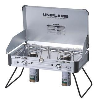 ユニフレーム(UNIFLAME)のユニフレーム ツインバーナー US-1900 展示品(ストーブ/コンロ)