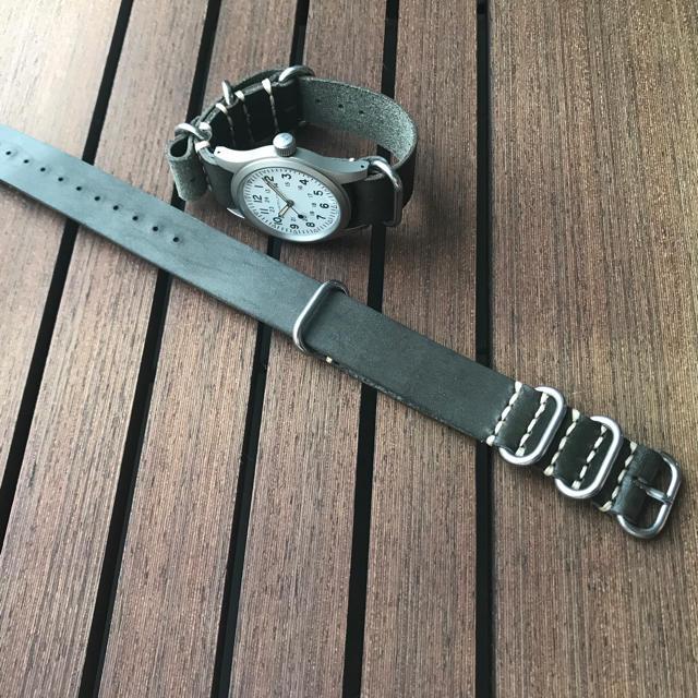 時計 偽物 違い - natoベルト ハンドメイド 20mm ロロマレザー サーペンタインの通販 by tron's shop|ラクマ