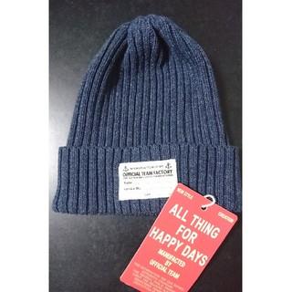 ニードルワークスーン(NEEDLE WORK SOON)のニードルワーク official team ニット帽(帽子)