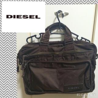 ディーゼル(DIESEL)の専用⭐️ディーゼル こげ茶バッグ(ビジネスバッグ)