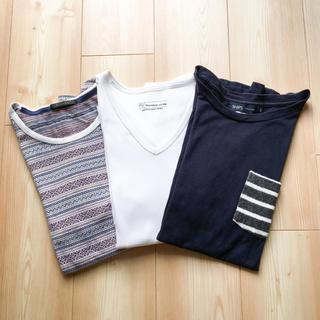 シップス(SHIPS)の【3点セット】SHIPS シップス NICOLE ムッシュニコル Tシャツ(Tシャツ/カットソー(半袖/袖なし))