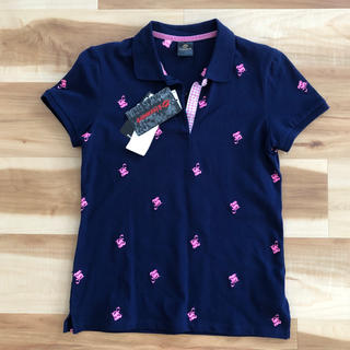 パーリーゲイツ(PEARLY GATES)のゴルフ ポロシャツ 新品タグつき(ポロシャツ)